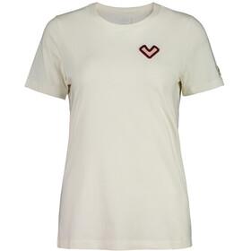 Maloja RusellasM. T-shirt Dames, vintage white hearts
